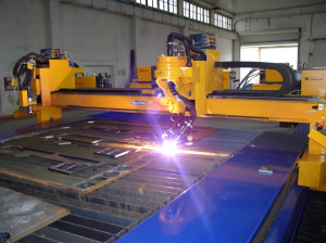 Плазменная резка металла в компании ВСК-сервис
